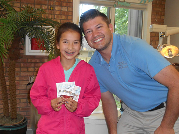 Congrats to Sophia - our May 2016 Trivia Winner!