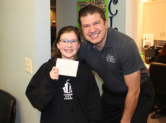 Hannah is our Hygiene Winner for the 4th quarter of 2016!