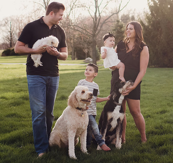 Helms Family including Pets June 2018