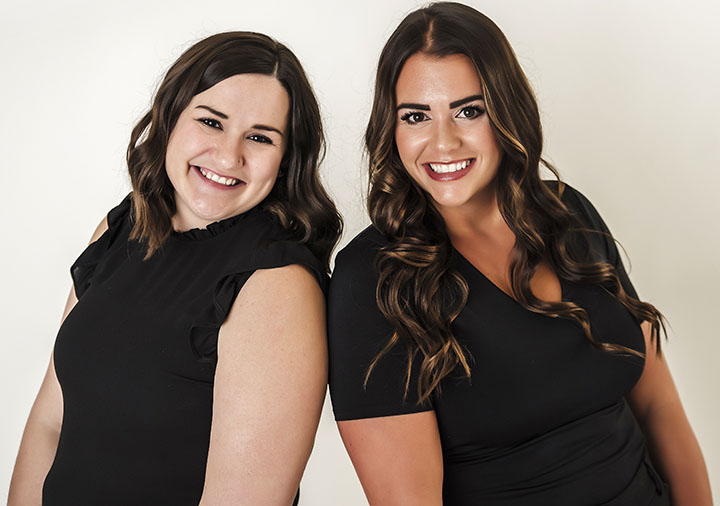 Caitlin and Megan of Image Orthodontics, West Lafayette, IN
