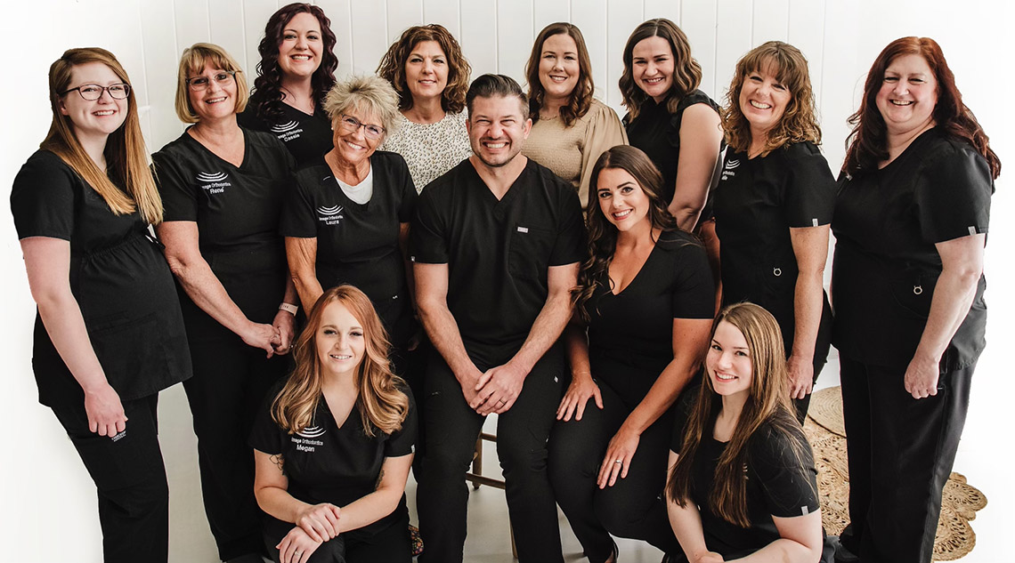 Dr. Ryan Helms and staff of Image Orthodontics, West Lafayette, Indiana