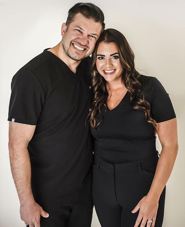 Dr. Ryan Helms and Megan Helms, Image Orthodontics